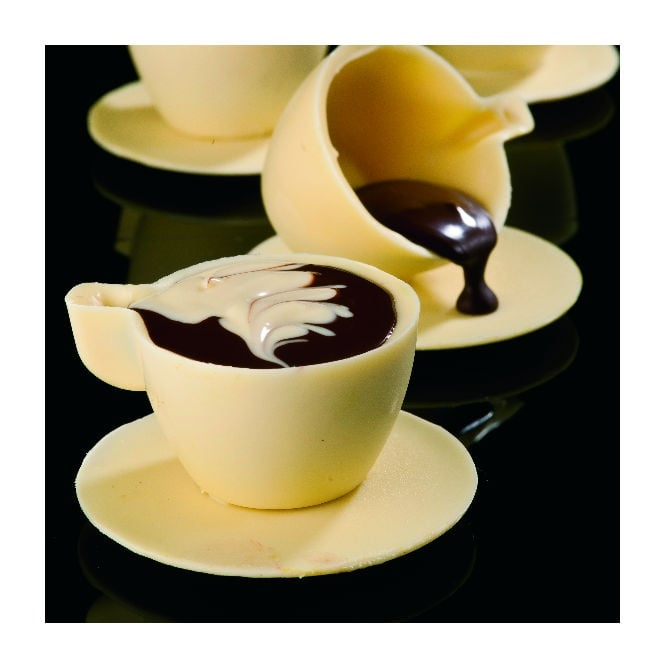 Martellato Small Coffee Chocolate Cup Mould