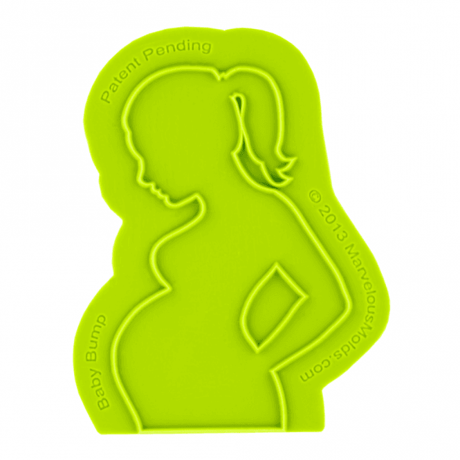 Marvelous Molds Baby Bump Silicone Onlay