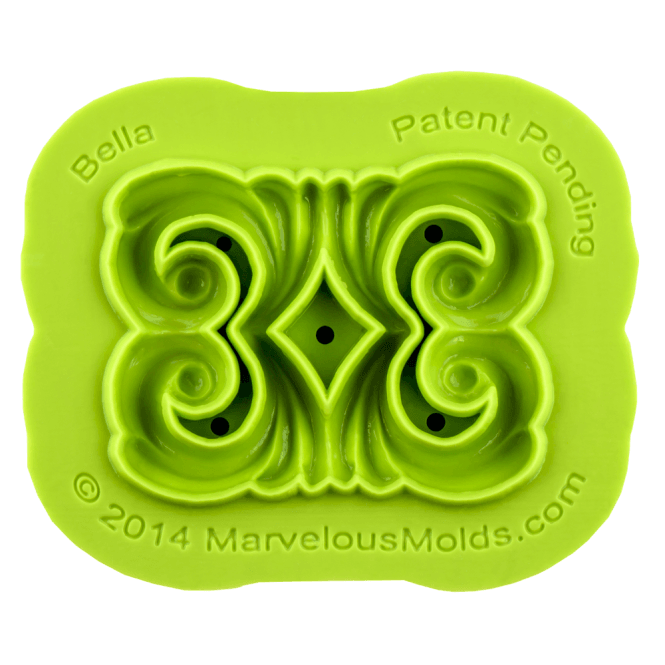 Marvelous Molds Bella Scroll Mould