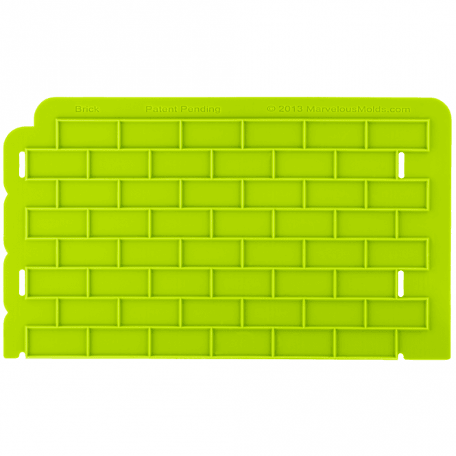 Marvelous Molds Bricks Silicone Onlay