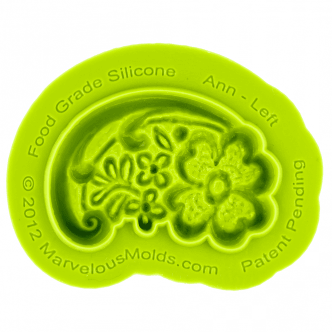 Marvelous Molds Earlene Ann Left Silicone Mould