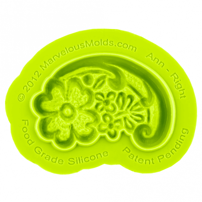 Marvelous Molds Earlene Ann Right Silicone Mould