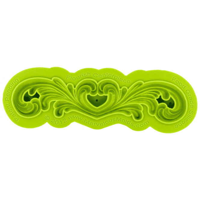 Marvelous Molds Flourish Swirl Centrepiece Silicone Mould