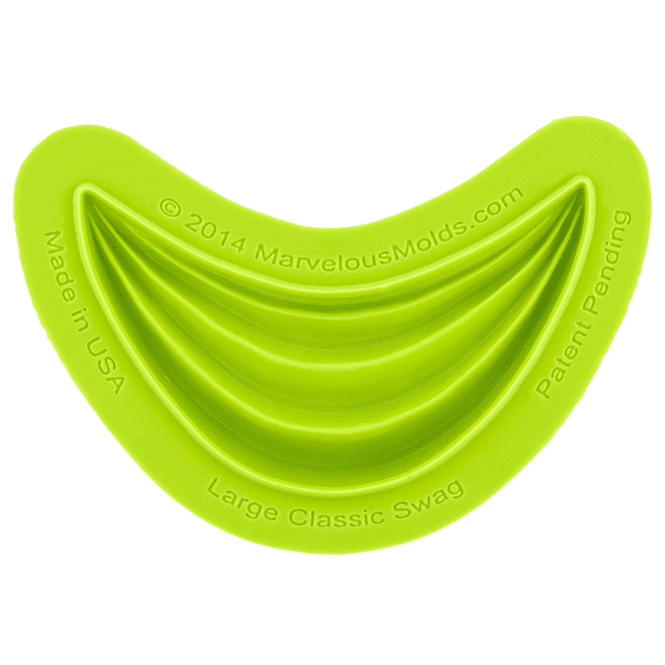 Marvelous Molds Large Classic Swag Silicone Mould