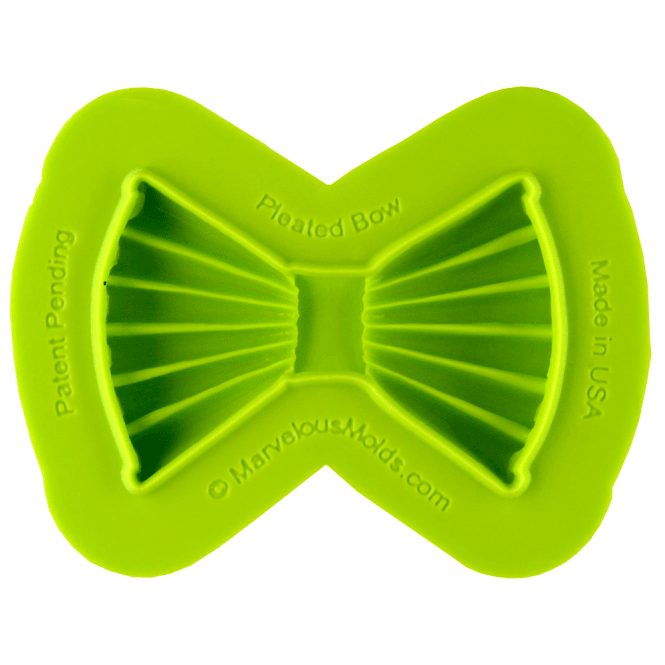 Marvelous Molds Pleated Bow Mould