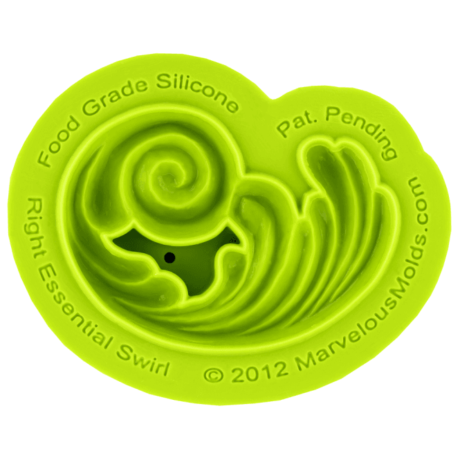 Marvelous Molds Right Essential Swirl Silicone Mould
