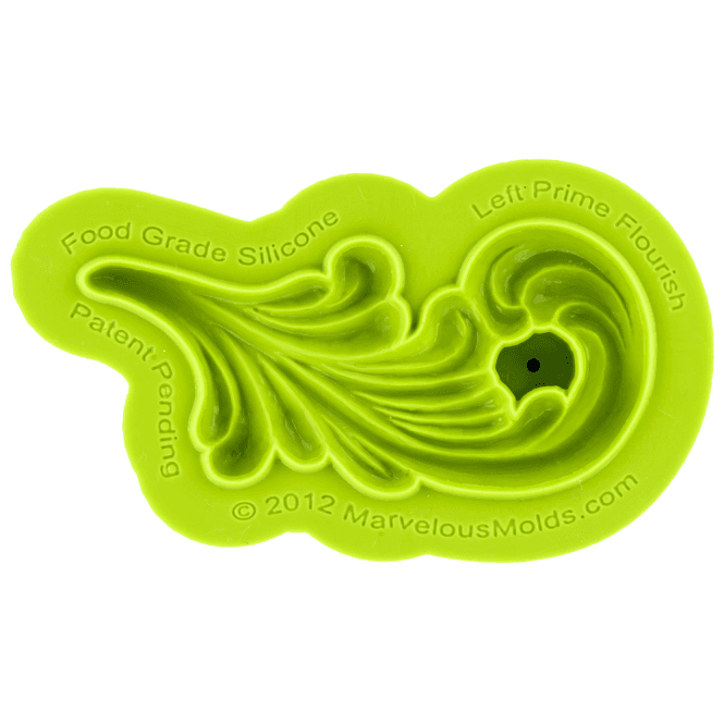 Marvelous Molds Right Prime Flourish Silicone Mould