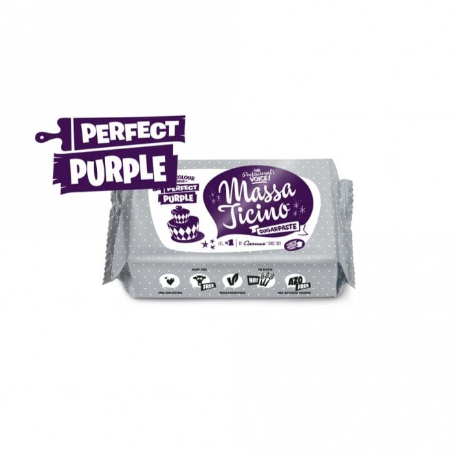 Massa Ticino Perfect Purple - 250g Sugarpaste