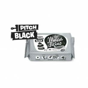 Pitch Black - 250g Sugarpaste