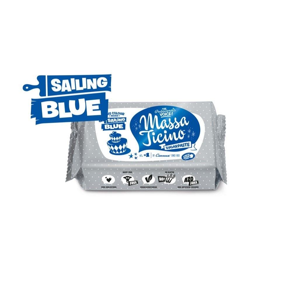 Massa Ticino Sailing Blue - 250g Sugarpaste - Cake ...