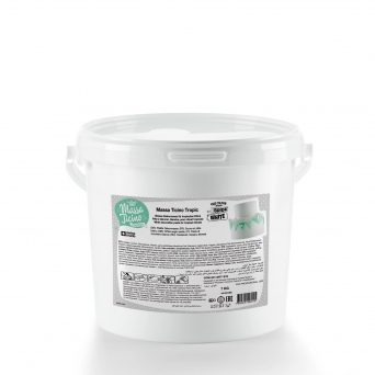 White Carma Tropic - 7KG Sugarpaste