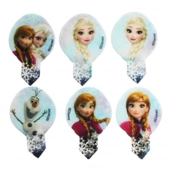 Frozen Disney Edible Cupcake Picks - Tub Of 600
