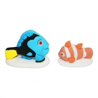 Dory And Nemo Edible Cake Toppers