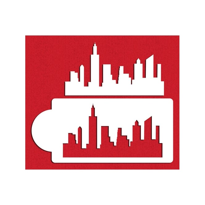 Designer Stencils New York Skyline By
