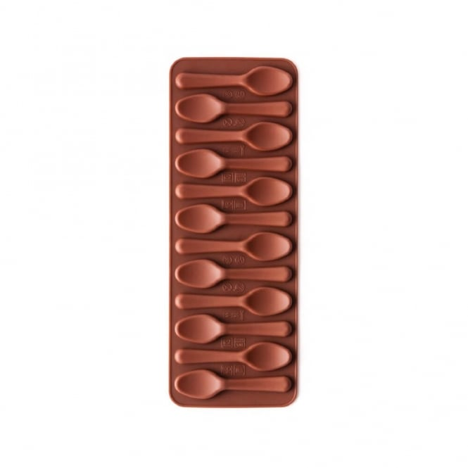 NY Cake Silicone Chocolate Spoon Mould
