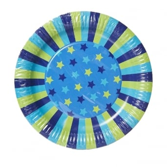 Star Dream Party Plates x 12 - Paper Eskimo