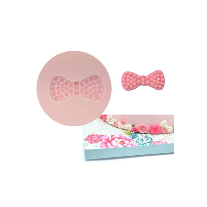 Tal Tsafrir Papillon Bowtie Pearls Silicone Mould - Cakes