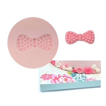 Papillon Bowtie Pearls Silicone Mould - Tal Tsafrir Cakes