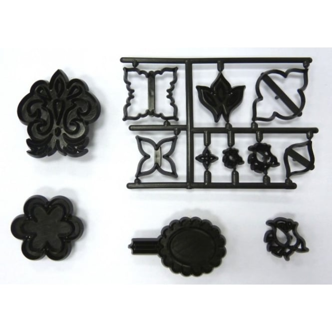 Patchwork Cutters Mix And Match Side Design Cutter Set