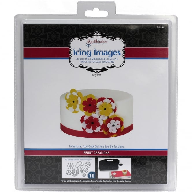Peony Creations Die Cutter - Icing Images
