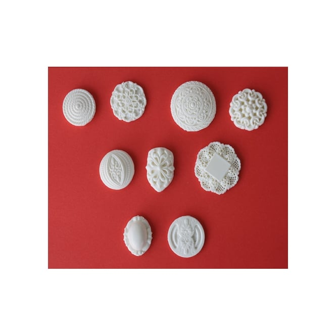 Petal Crafts  Button Collection Silicone Mould Sets