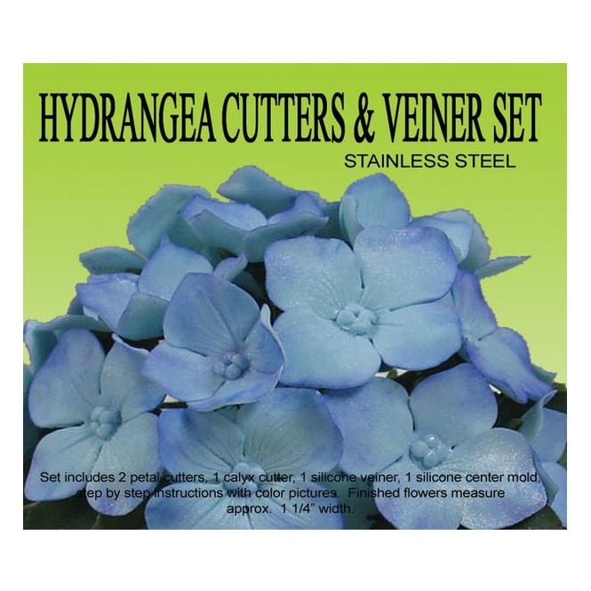 Petal Crafts  Hydrangea Flower Cutter And Veiner