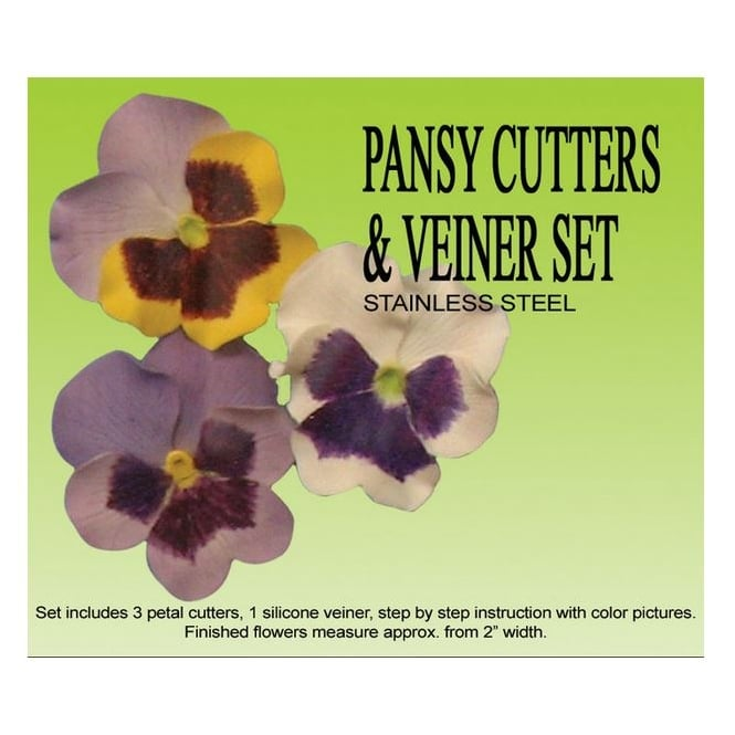 Petal Crafts  Pansy Cutter & Veiner Set
