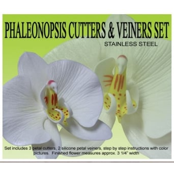 Phaleonopsis Moth Orchid Cutters And Veiners Set