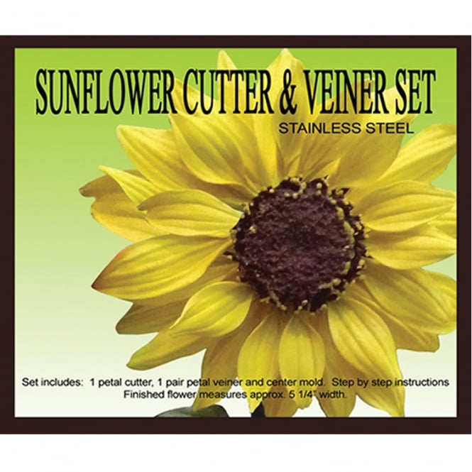 Petal Crafts  Sunflower Cutter And Veiner Sets