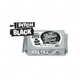 Pitch Black - 1KG Sugarpaste