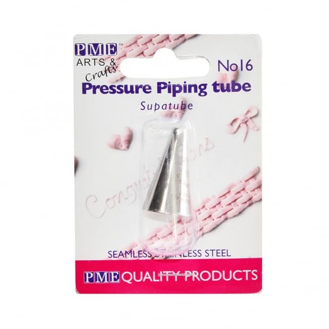 PME 5mm Pressure - Supatube 16 Piping Nozzle Tube Tip