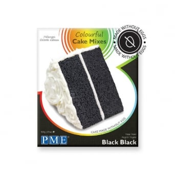 Black Black - Colourful Egg Free Cake Mix 500g