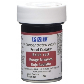 Brick Red - Gel Paste Colouring