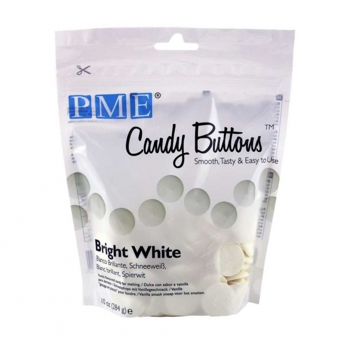PME Bright White - Candy Melts 284g