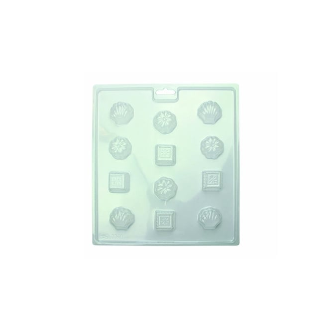 PME Classic Chocolate And Candy Mould - 12 Cavities