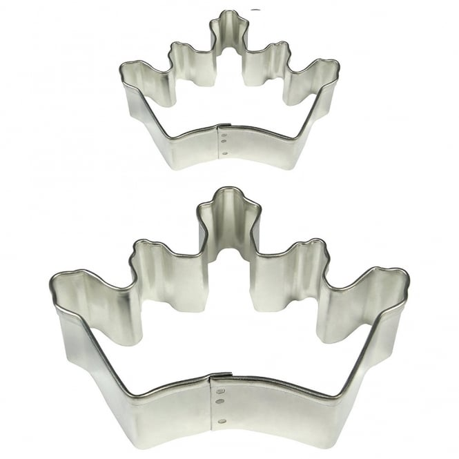 PME Crown Cake And Cookie Cutter Set Of 2