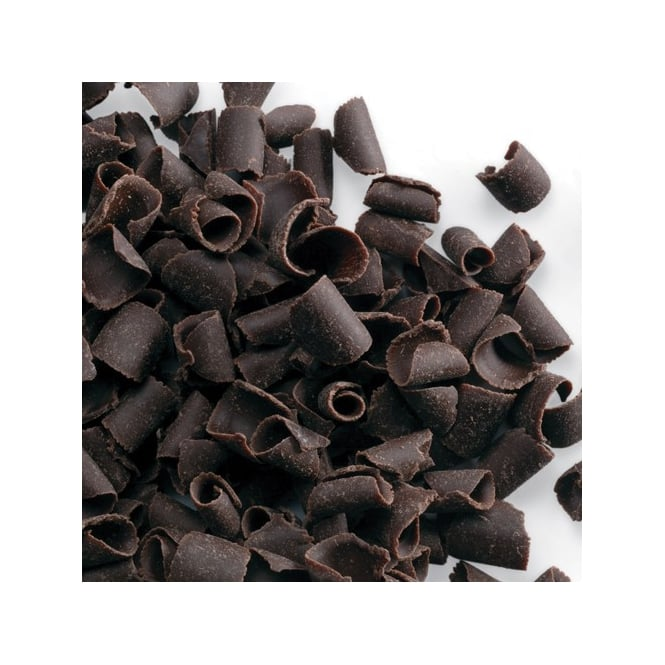 PME Dark - Belgian Chocolate Curls 85g