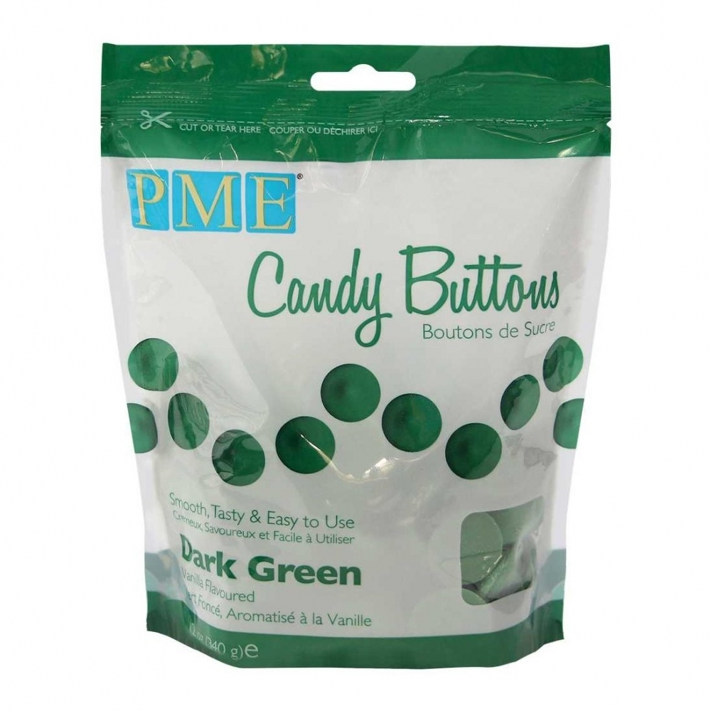 PME Dark Green - Candy Melts 340g - Chocolate Supplies ...