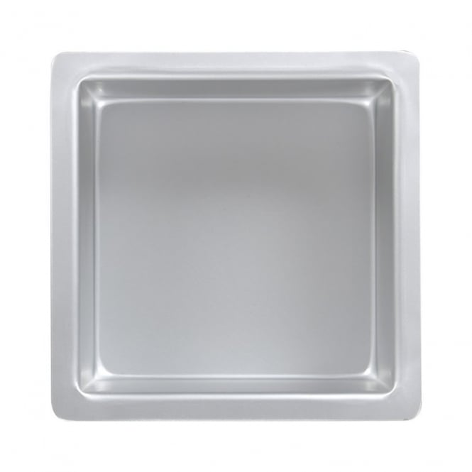 PME Square - 10 x 10 x 4 Inch - Seamless Baking Tin Pan