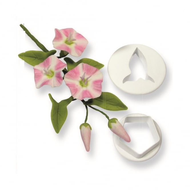 PME Field Bindweed Wild Flower Icing Cutter Set Of 2