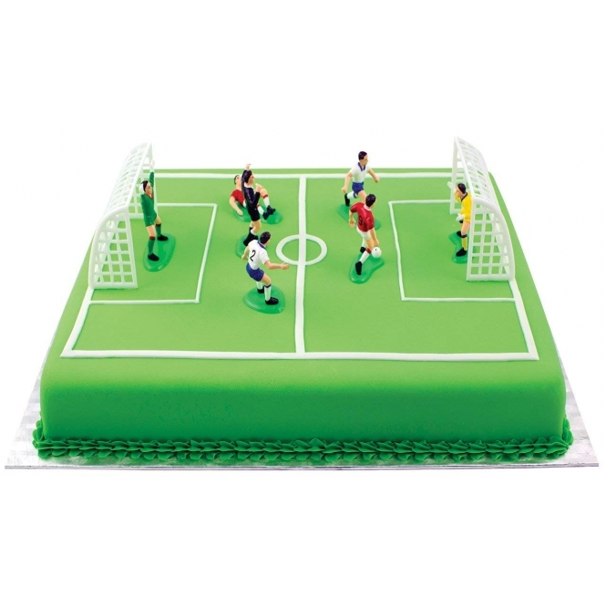 PME Football Cake Decorations 9 Pieces