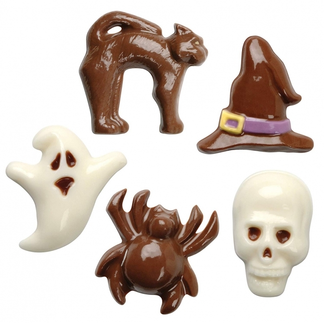 PME Halloween Chocolate And Candy Cake Pop Mould - 8 Cavities