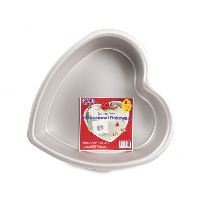 PME Heart - Seamless Professional Cake Tin 10 x 3 Inch