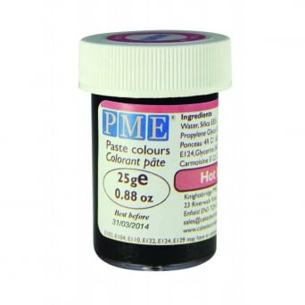 Hot Pink - Gel Paste Colouring - Choose A Size