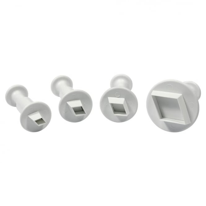 PME Mini Diamond Plunger Cutters - Set 4