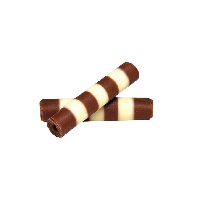 PME Mini Striped - Belgian Chocolate Cigarellos 100g