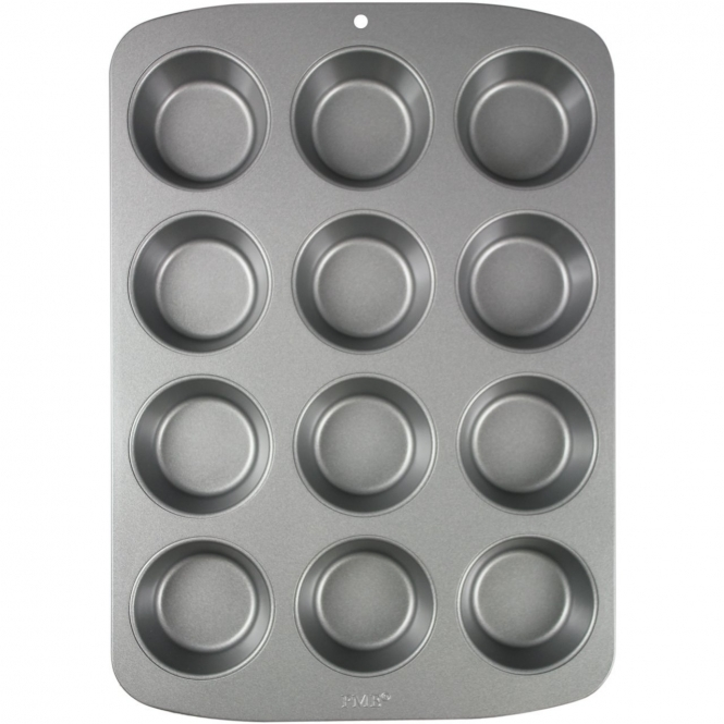 PME Non Stick 12 Cupcake And Muffin Pan