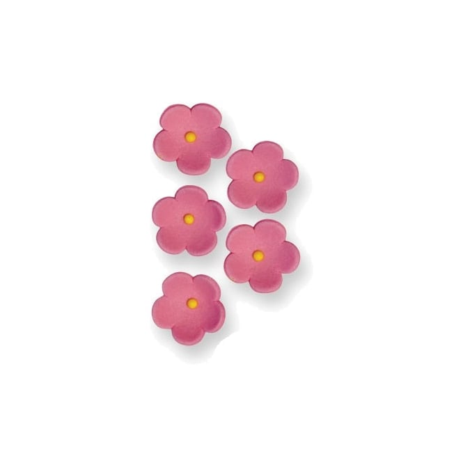 PME Pink Sugar Blossom Flowers - Pack of 30