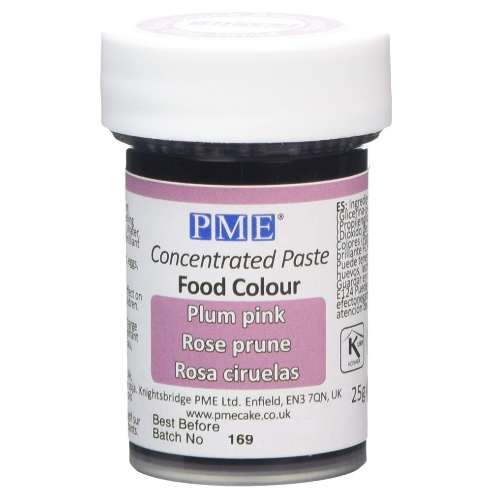 Plum Pink Gel Paste Colouring | Cake Decorating Gel Food Colours