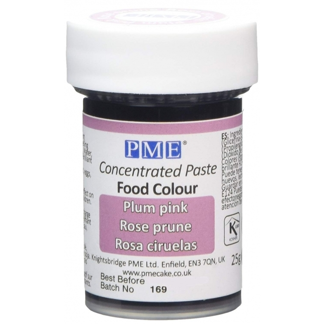 PME Plum Pink - Gel Paste Colouring
